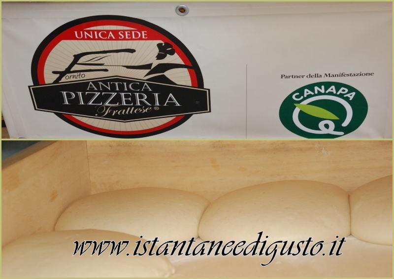 La pizza alla canapa di Antica Pizzeria Frattese