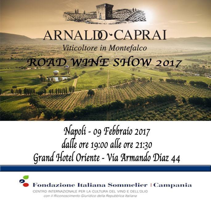 Caprai Road Show Wine
