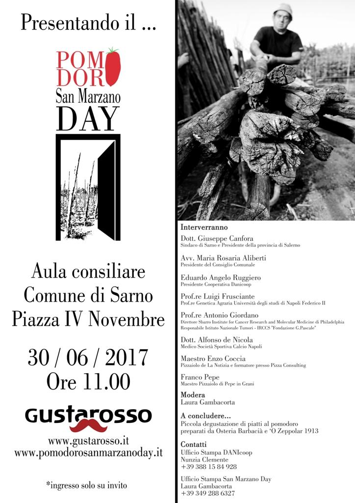 Il 30 giugno a Sarno si presenta il San Marzano Day 2017