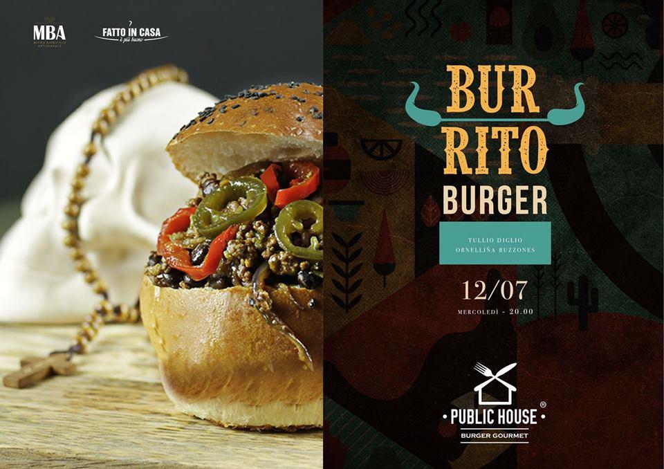 Burrito burger Public house