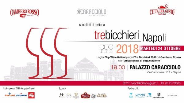TRE BICCHIERI 2018 - Città del gusto Napoli