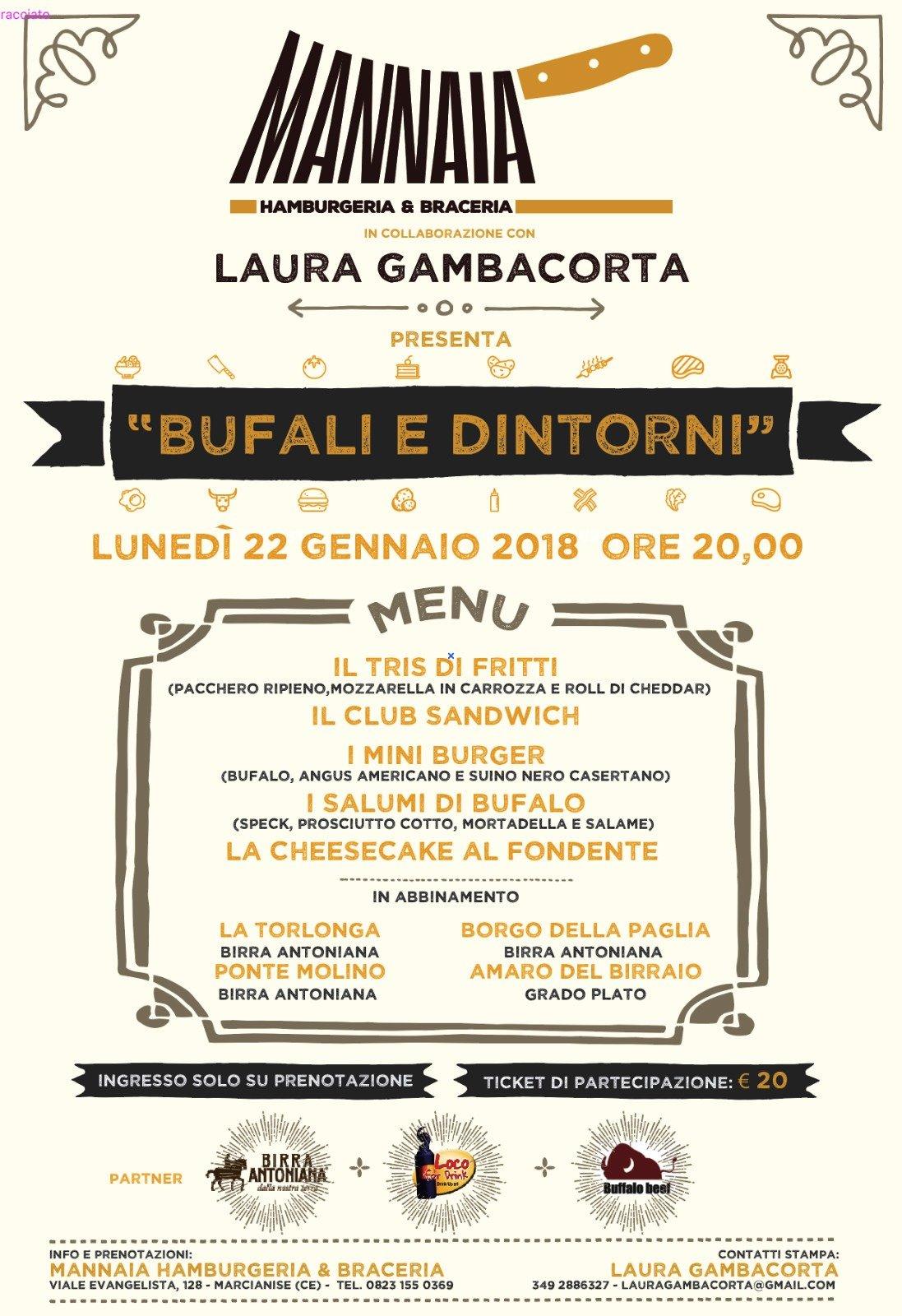 """Mannaia Hamburgeria & Braceria """"Bufali e dintorni"""""""