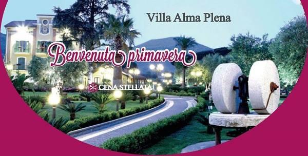 Benvenuta Primavera - Villa Alma Plena